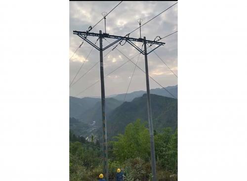 中国铁路成都局重庆供电段避雷针安装工程