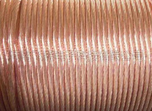 覆铜钢绞线